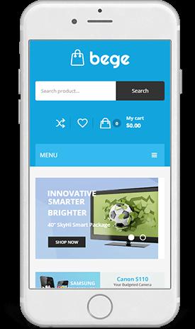 Smartphone Website Design